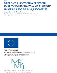 Plakát A3_Šablony II_ZŠ a MŠ Plotiště